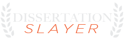 Dissertation Slayer Logo