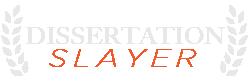 Dissertation Slayer Logo